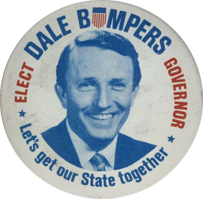 6. Dale Bumpers For Governor