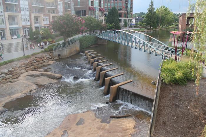 Falls Park on the Reedy - Greenville, SC