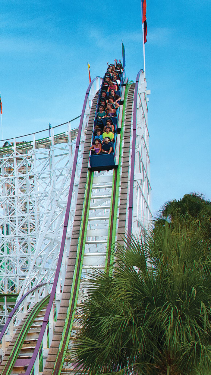 4. Family Kingdom Amusement Park - (front beach) Myrtle Beach, SC