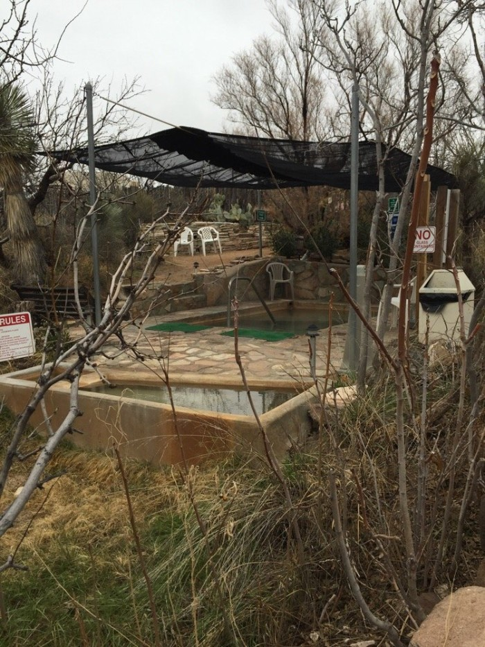 9. Faywood Hot Springs, between Silver City and Deming