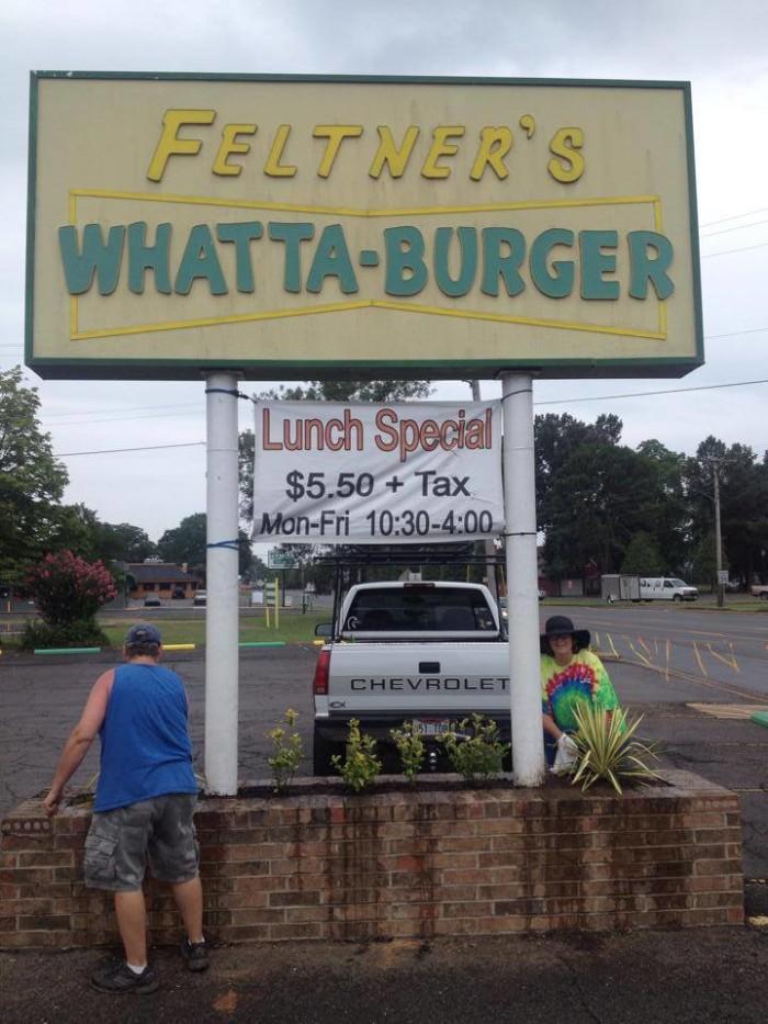 8. Feltner's Whatta Burger