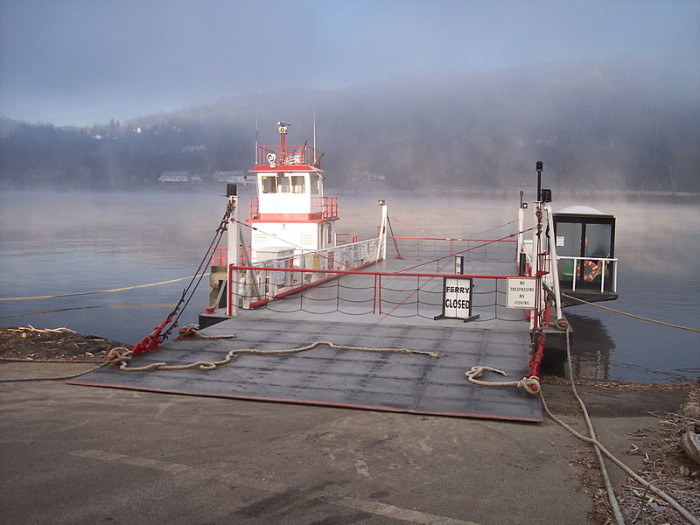3. The Sistersville Ferry