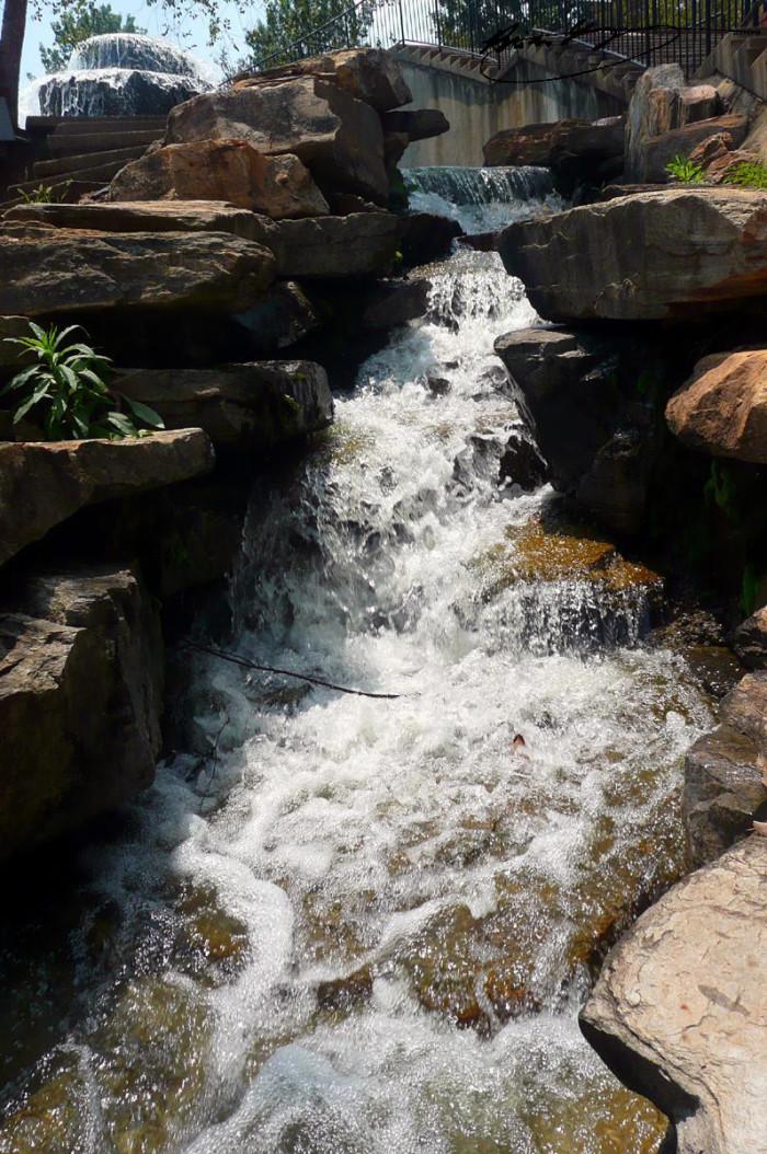 Finlay's Cascade - Finlay Park - Columbia, SC