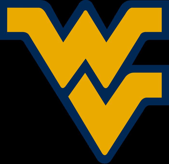 10. WVU's Flying WV logo