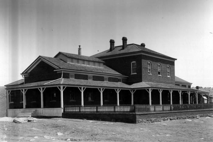 7. Fort Bayard, 200 Camino De Paz, Fort Bayard, NM 88036