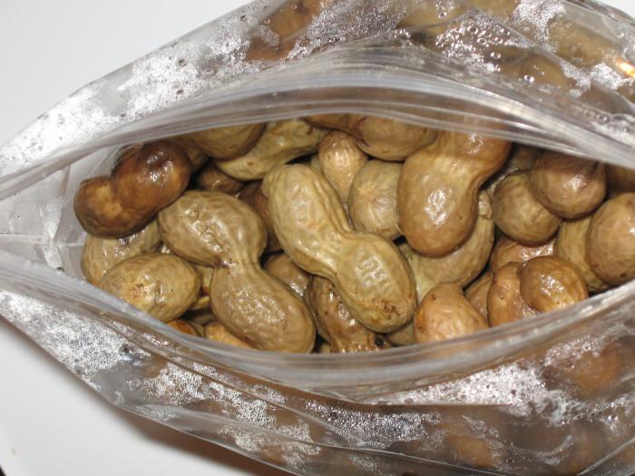 6. Boiled Peanuts