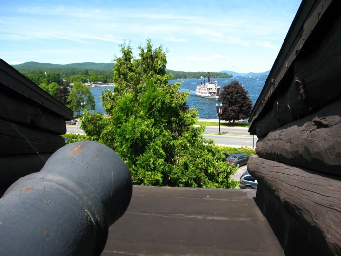 Enjoy the historical side the village at Fort William Henry.