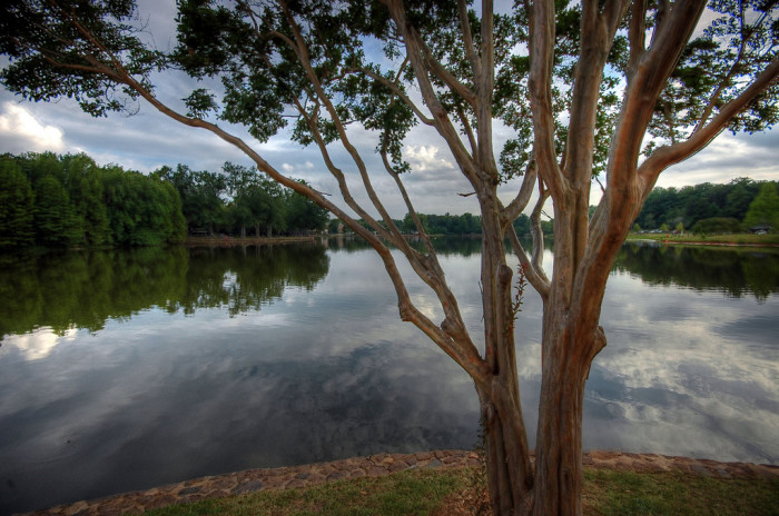 5. This spot alongside the spring-fed Furman Lake is breathtaking.