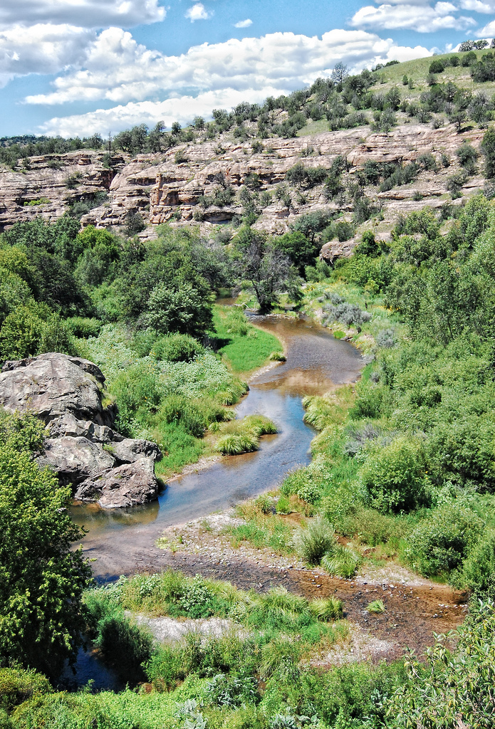12. And our rivers and lakes are crystal clear. The Gila River, pictured here, is a tributary of the Colorado River.