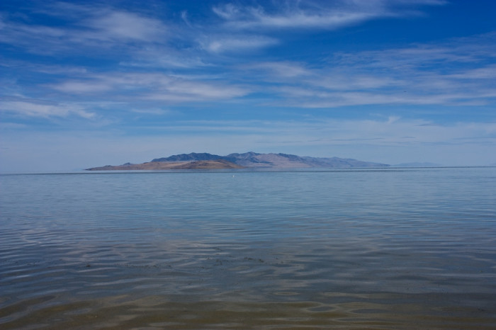 8. The Great Salt Lake
