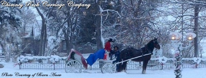5. While you're in the area, book a romantic winter carriage ride.