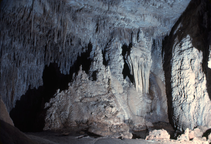 7. Hidden Cave, which is in the Lincoln National Forest, hasn't changed much over the years either!