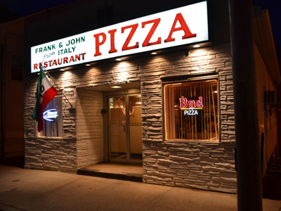 3. Frank and John's From Italy, East Greenwich
