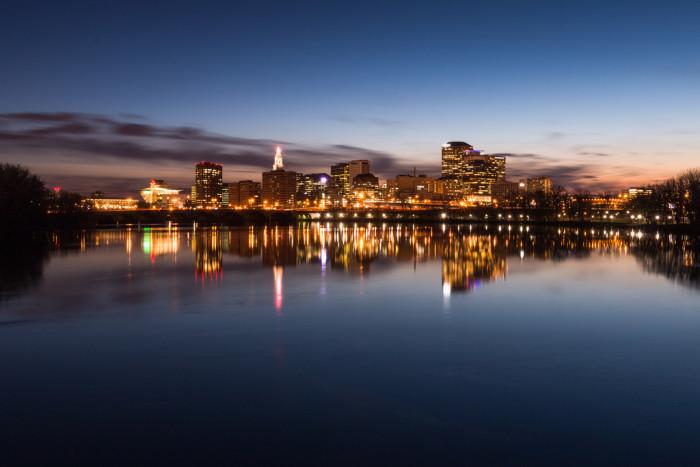 10) Hartford: even more incredible at night, no?