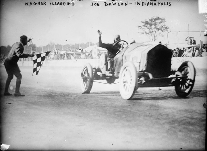 1. The First Indy 500 Race - 1911
