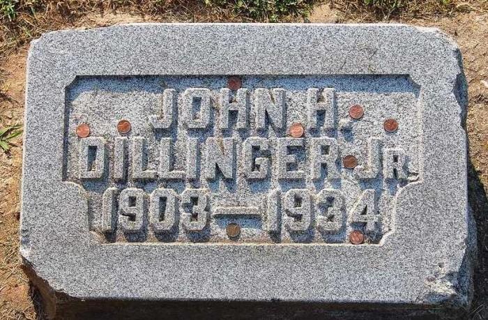 1. John Dillinger's Grave