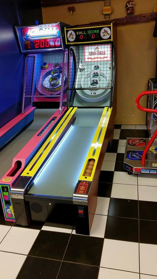 5. Play vintage arcade games