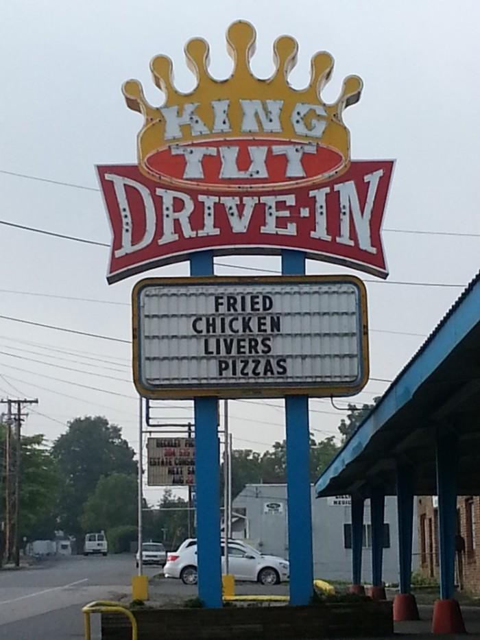 8. King Tut Drive In in Beckley