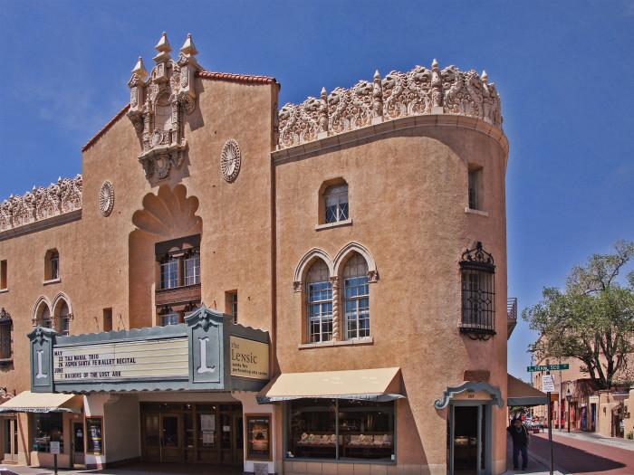 16. Lensic Theater, Santa Fe