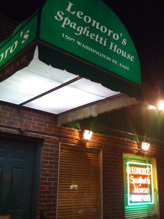 9. Leonoro's Spaghetti House in Charleston