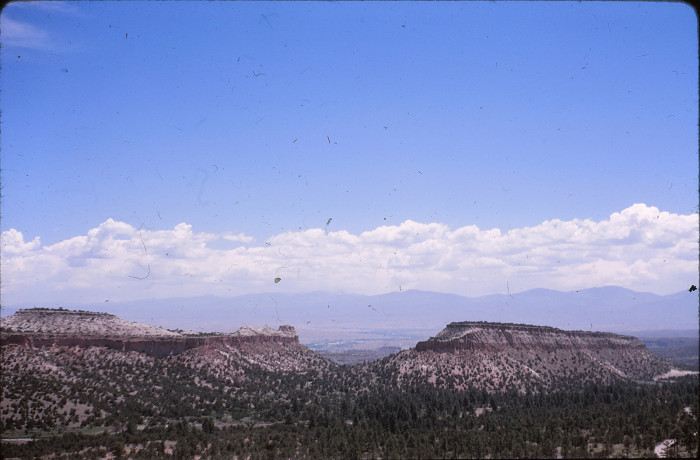 12. The view from the eastern portion of Route 66 in New Mexico.