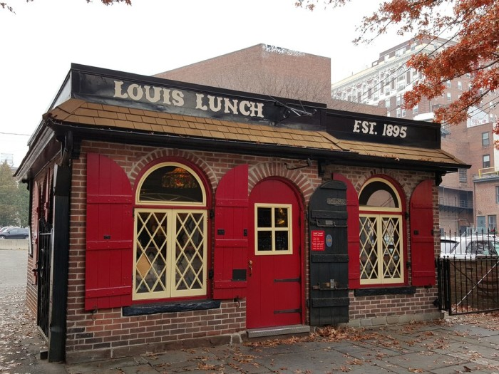 1) Louis's Lunch - New Haven
