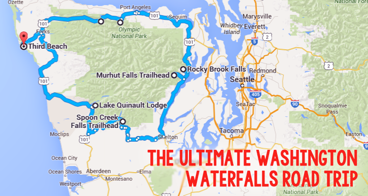 The Ultimate Washington Waterfalls Road Trip Is Here – And You'll Want To Do It