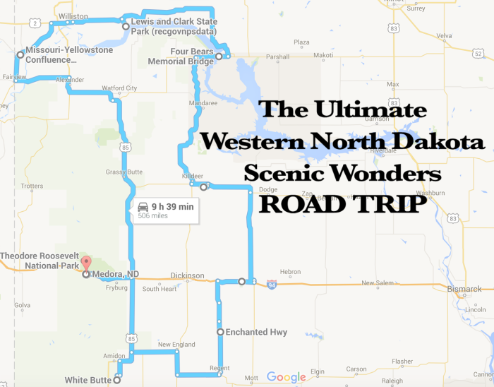 The Best Scenic Western North Dakota Road Trip