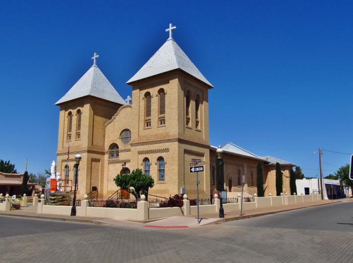 6. Basilica of San Albino, Mesilla
