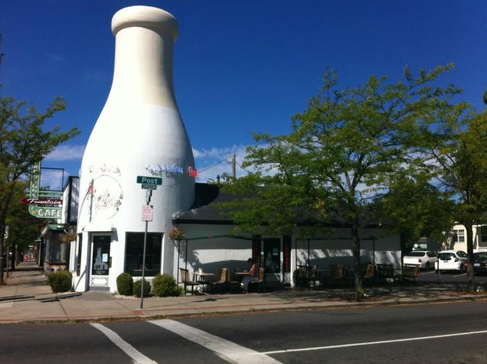 8. Mary Lou's Milk Bottle, Spokane