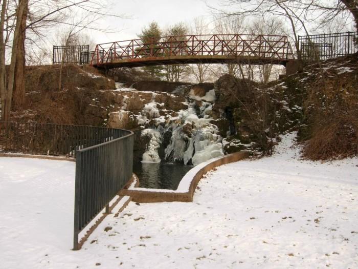 3. Mill Pond Falls - Newington