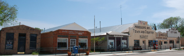 7. Mosquero village, Harding and San Miguel Counties, population 93