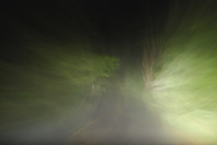 9. This otherworldly photo was taken on a rainy drive home from Mount Washington.