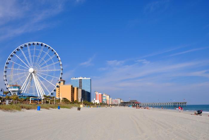 9. Summer trips to Myrtle Beach