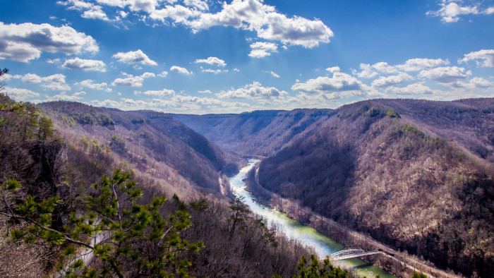 3. The New River Gorge