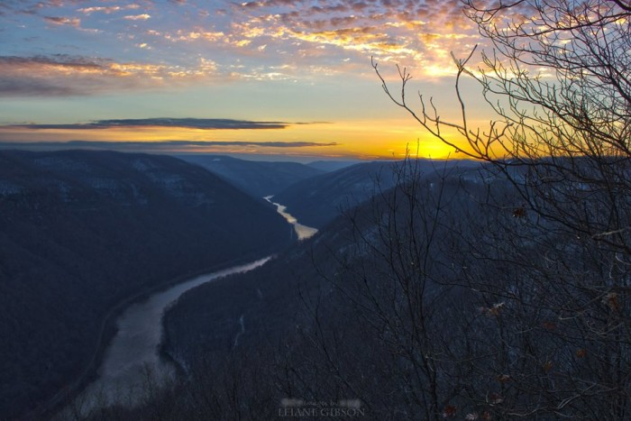 13. Leiane Gibson took an awesome photo of a sunrise at Grandview State Park.