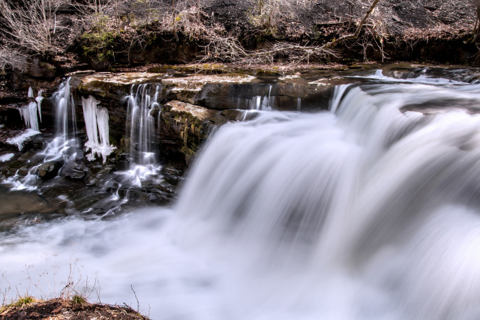 3. This shot of a gorgeous waterfall in Raleigh County.