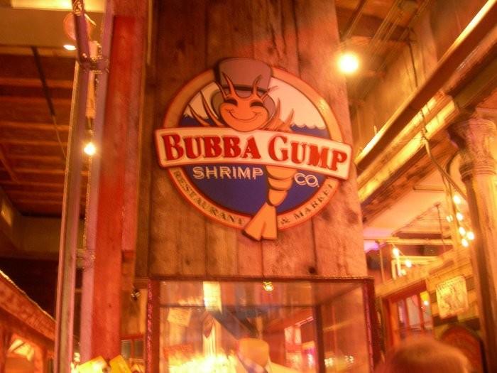 4. Bubba Gump Shrimp Company, New Orleans, LA