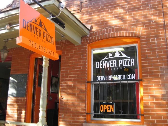 9.) Denver Pizza Company (Downtown)