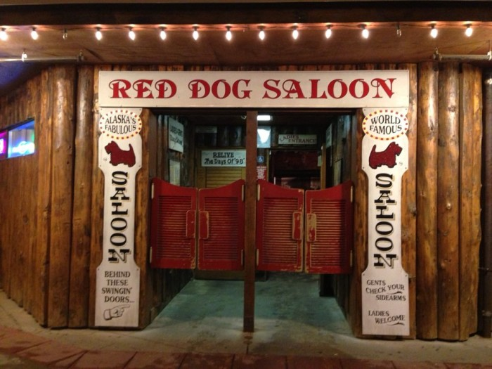 1. Red Dog Saloon in Juneau