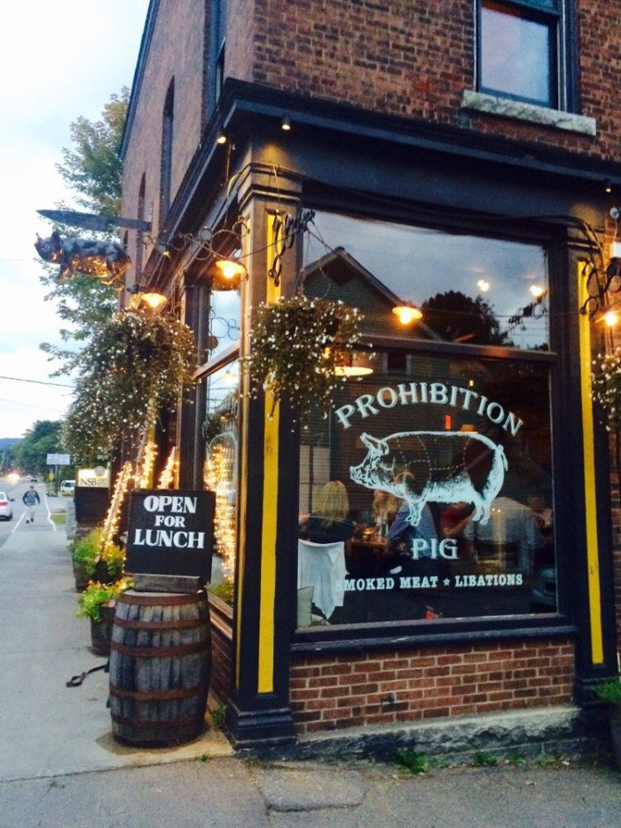 1.  Prohibition Pig - 23 S Main St, Waterbury