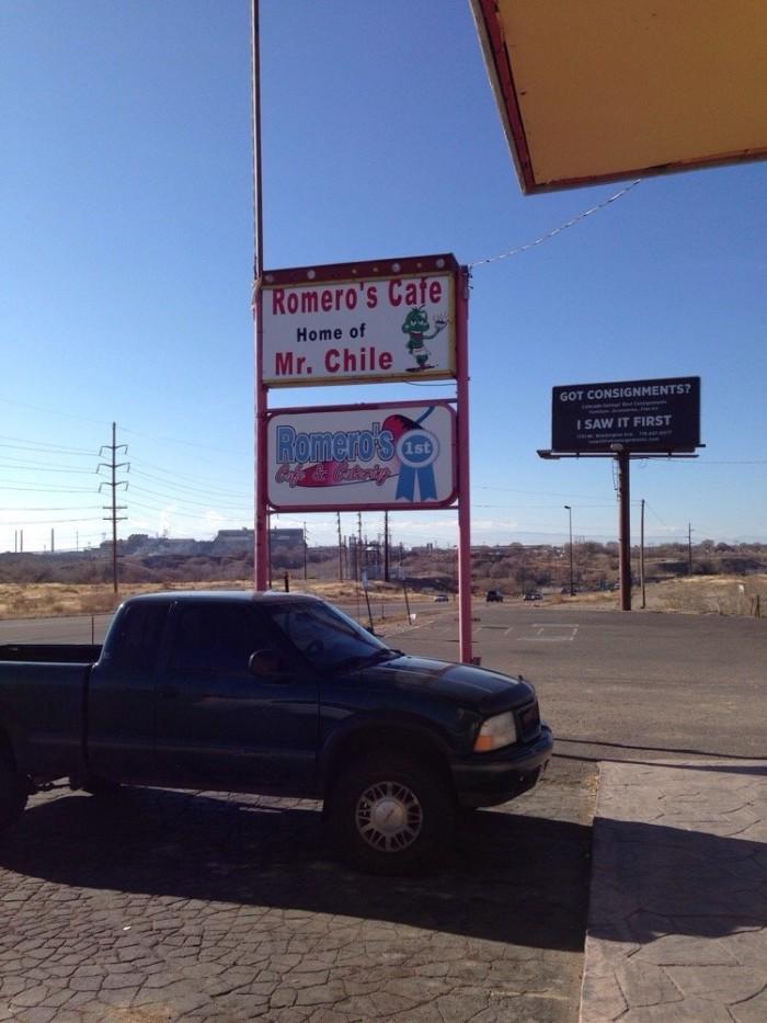 9. Romero's Cafe & Catering (Pueblo)
