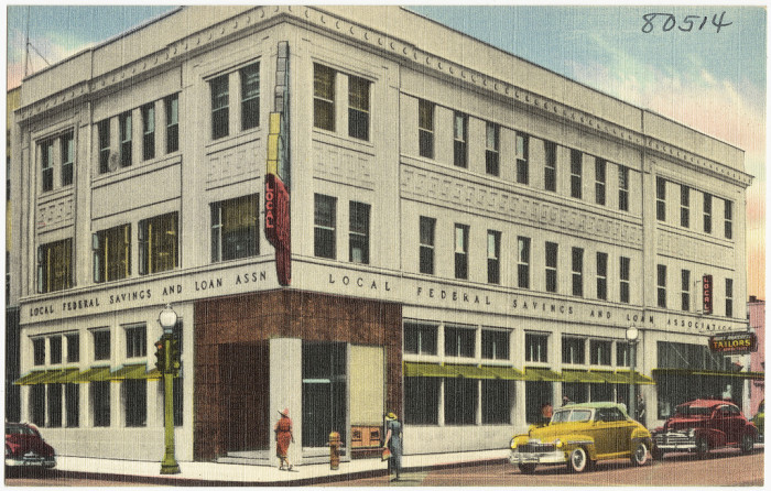 "16. ""Local Federal Savings & Loan Association, Oklahoma City, Oklahoma."""