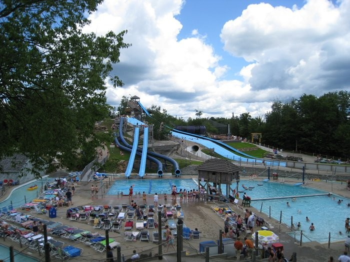 Looking for New York's largest water theme park? It's here in the Adirondacks!