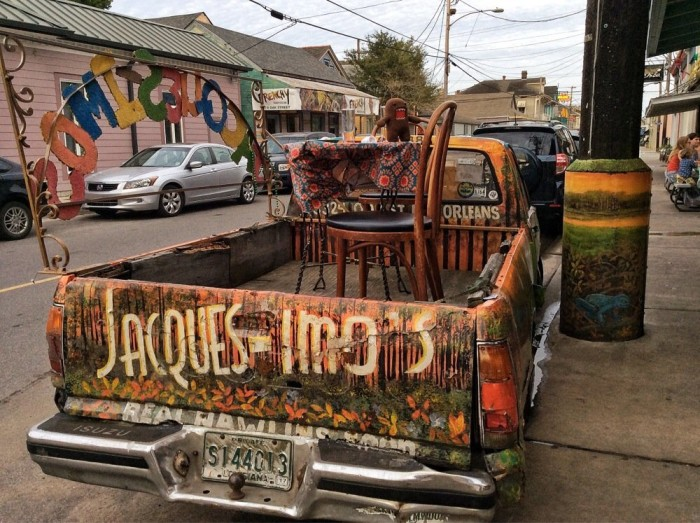 So the next time you visit New Orleans, consider stopping by one of its most unique and creative restaurants.