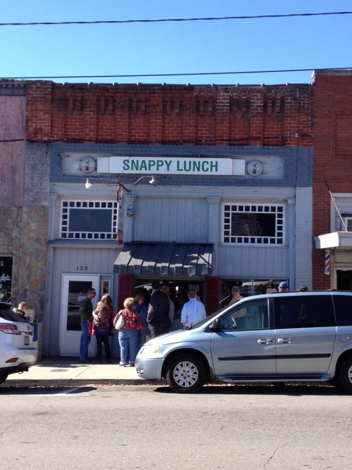 10. Snappy Lunch, Mt. Airy