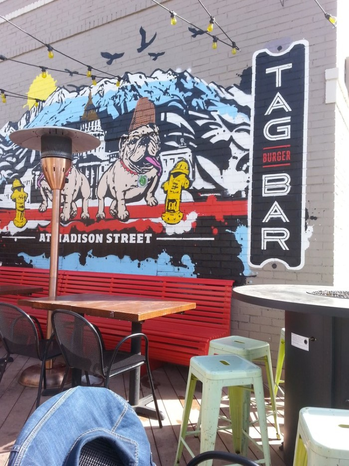 4.) TAG Burger Bar (Congress Park & Highlands)