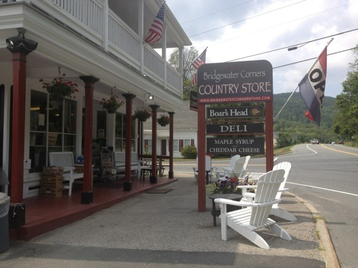 15.  Bridgewater Corners Country Store - 5680 US Route 4, Bridgewater Corners