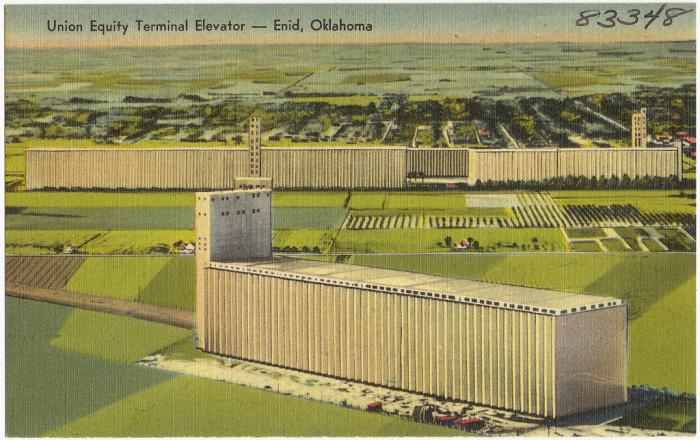 "6. ""Union Equity Terminal Elevator - Enid, Oklahoma."""