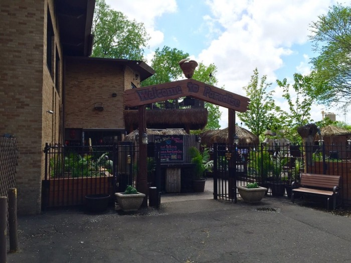 The patio at Psycho Suzi's has consistently been named of one the city's favorites. There is nothing like spending a summer day sipping tropical drinks on the riverfront at what might be the most unexpected restaurant in Minnesota.